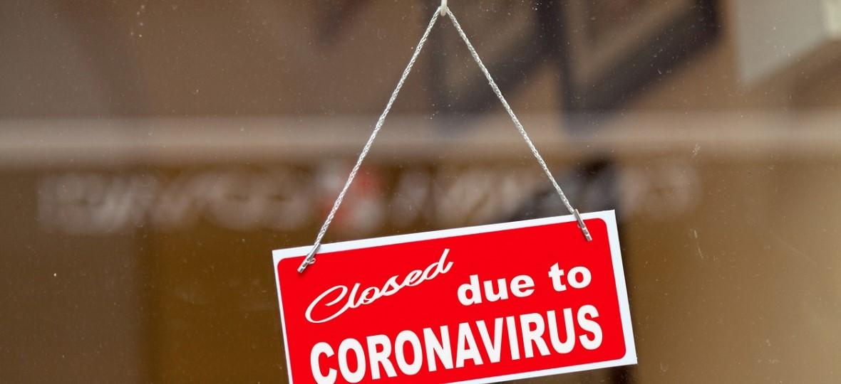 Closed to Coronavirus